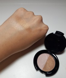 Blends easily, pigmented enough.