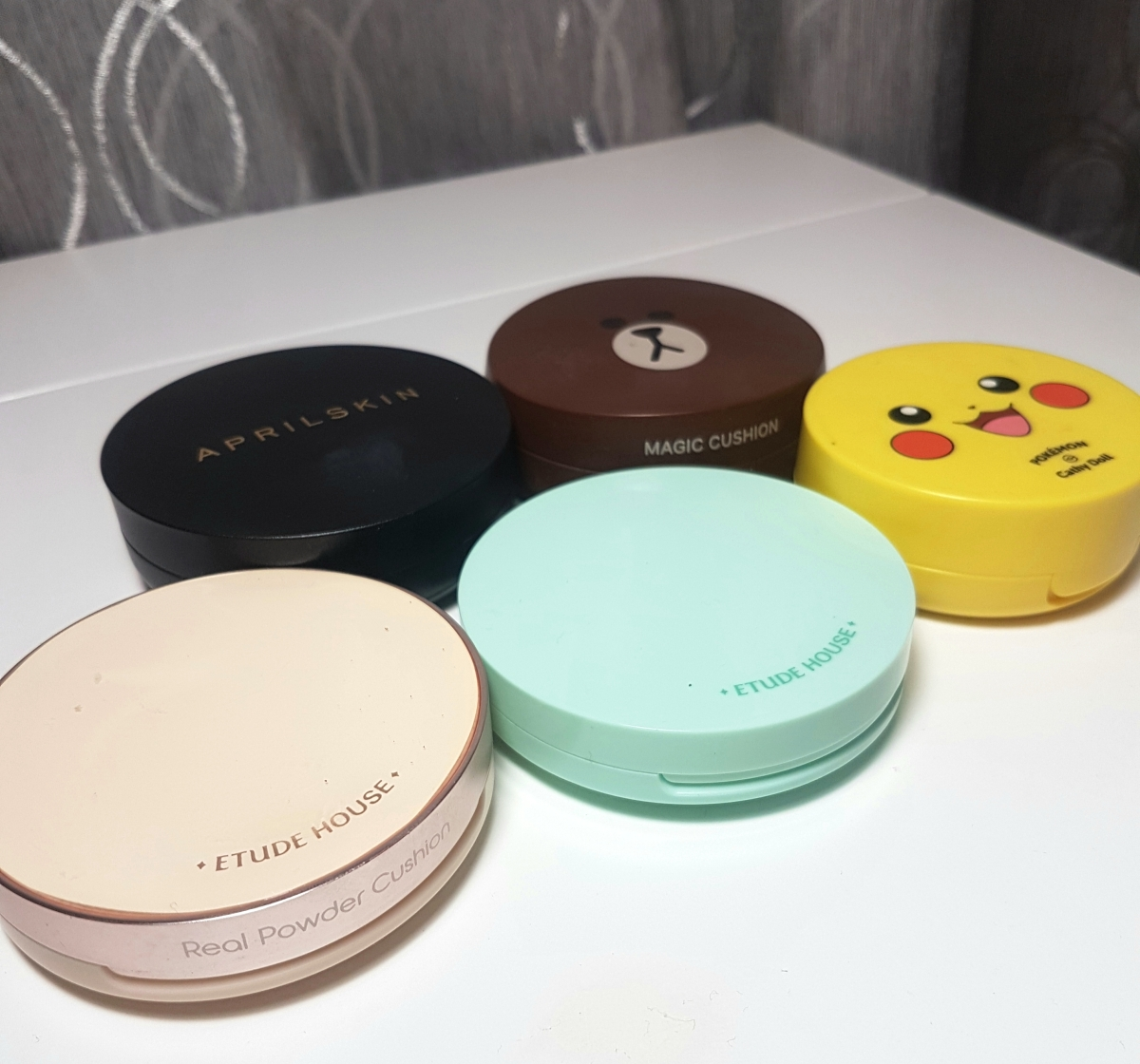 My Bb Cushion Collection Mini Reviews Just Beauty Eh Ac Clean Up Natural Beige